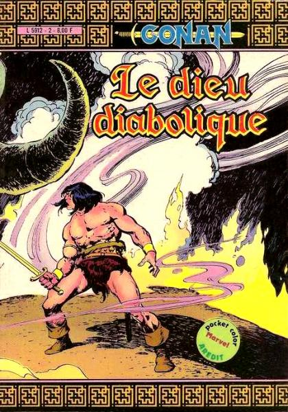 Conan (pocket color) # 2 - Le Dieu diabolique