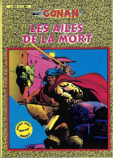 Conan (pocket color) # 3 - Les Ailes de la mort