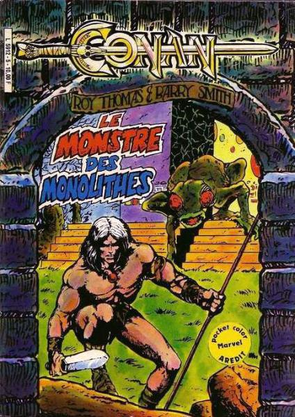 Conan (pocket color) # 5 - Monstre des monoliyhe,  Le
