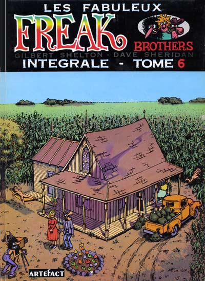 Les fabuleux freak brothers # 6 - Les fabuleux freak brothers tome 6