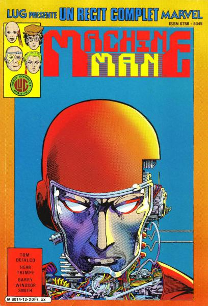 Un récit complet Marvel # 12 - Machine Man