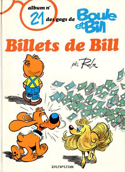 Boule et Bill # 21 - Billets de Bill