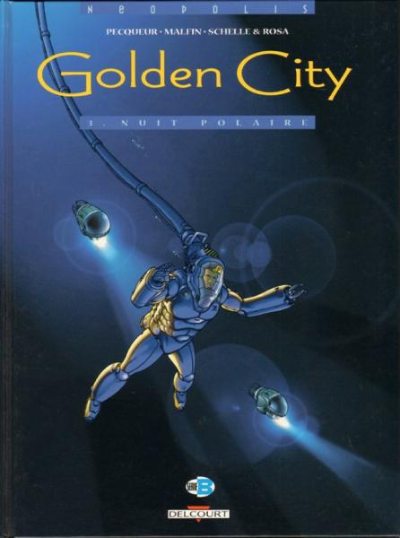 Golden city # 3 - Nuit polaire