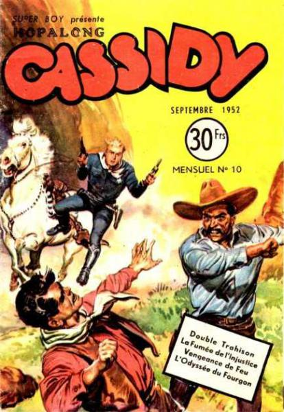 Hopalong Cassidy # 10 - Double trahison