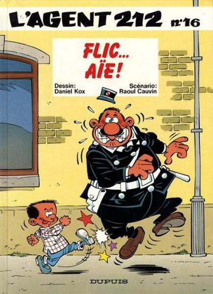 Agent 212 # 16 - Flic... Aie!