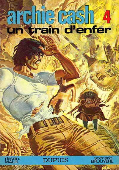 Archie Cash # 4 - Un train d'enfer