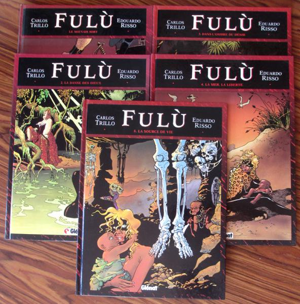 Fulù # 0 - Fulù collection complète 5 tomes EO