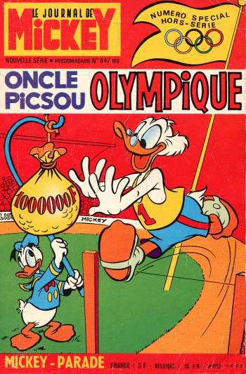 Mickey parade (premiére serie - journal de mickey bis) # 847 - Oncle Picsou Olympique