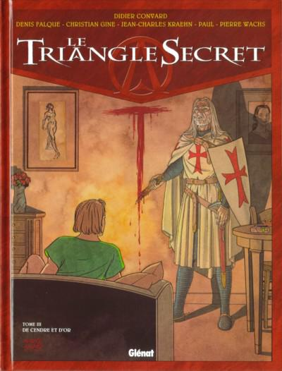 Le Triangle secret # 3 - De cendre et d'or