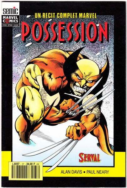 Un récit complet Marvel # 37 - Serval : Possession