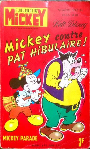 Mickey parade (premiére serie - journal de mickey bis) # 990 - Mickey contre Pat Hibulaire !