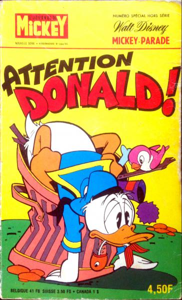 Mickey parade (premiére serie - journal de mickey bis) # 1284 - Attention Donald !