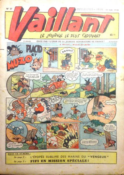 Vaillant journal # 57 -