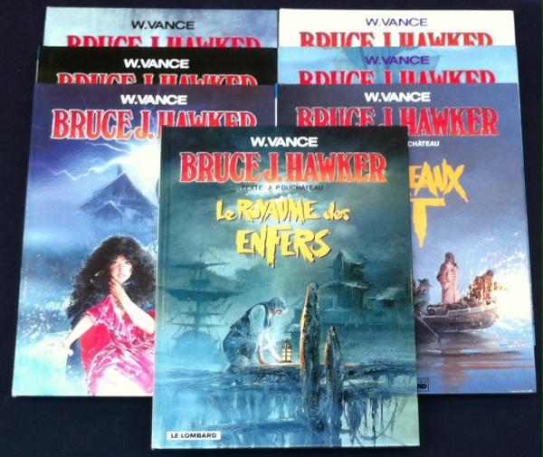 Bruce J. Hawker # 0 - Collection complète EO 7 vol.