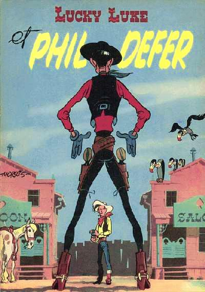 Lucky Luke # 8 - Lucky Luke et Phil Defer