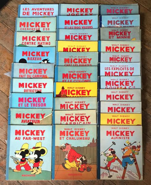 Mickey (Hachette) # 0 - Collection complète 30 tomes 1931-1954
