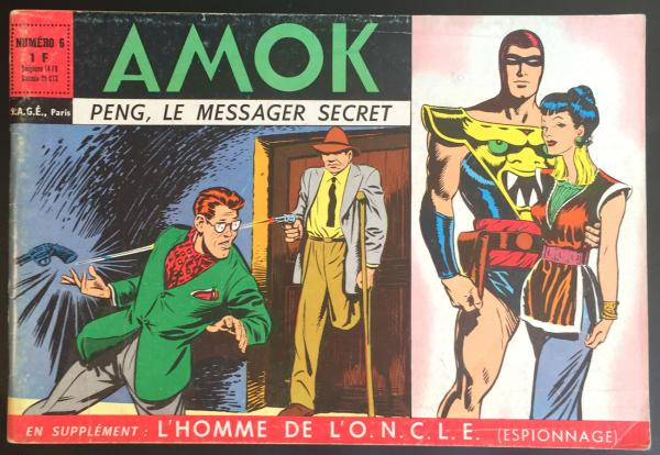 Amok (2ème série) # 6 - Peng, le messager secret
