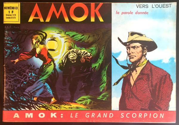 Amok (2ème série) # 13 - Le Grand scorpion