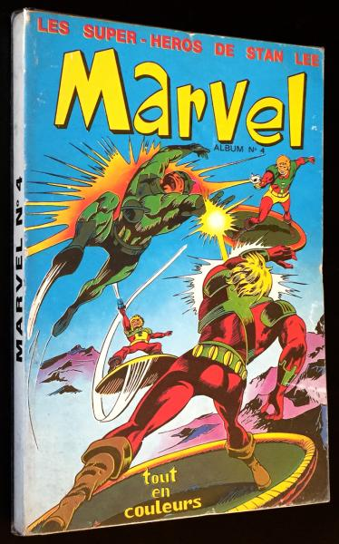 Marvel (recueils) # 4 - Album n°4 (11 à 13)