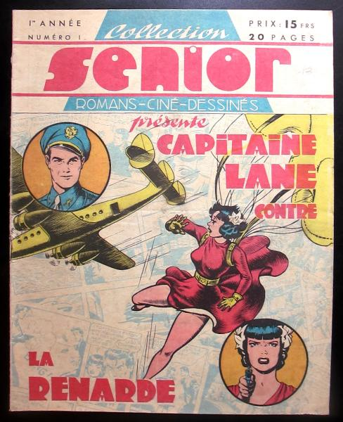 Capitaine Lane # 1 - Capitaine Lane contre la Renarde