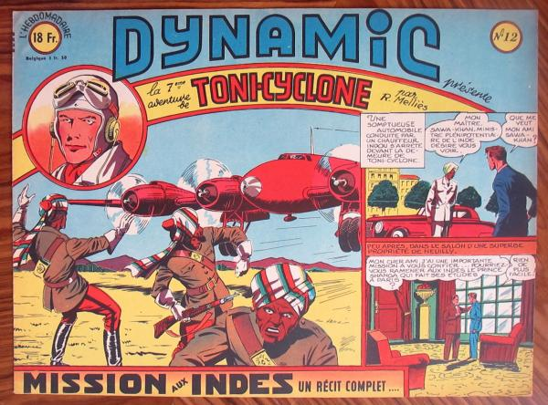 Dynamic (1ère série) # 12 - Toni Cyclone n°7 : Mission aux Indes