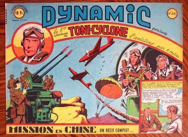 Dynamic (1ère série) # 16 - Toni Cyclone n°8 : Mission en chine