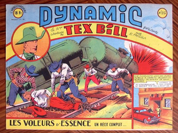 Dynamic (1ère série) # 25 - Tex Bill n°14 : Les Voleurs d'essence