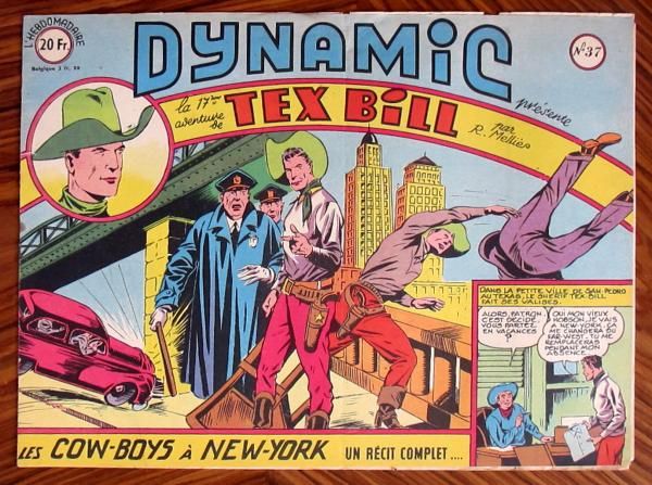 Dynamic (1ère série) # 37 - Tex Bill n°17 : Les Cow-boys à New-York
