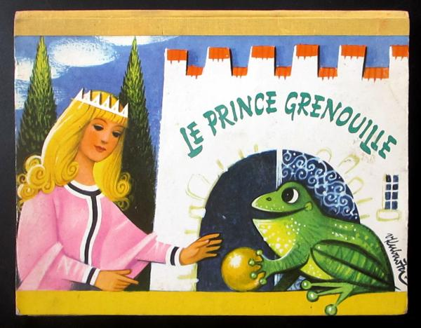 Le Prince grenouille - POP-UP par KUBASTA