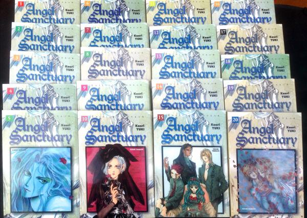 Angel sanctuary # 0 - Collection complète 20 volumes