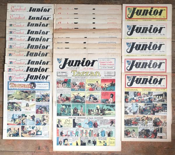 Junior (Coquelicot journal du) # 0 - Collection complète 1 à 27 - 1947