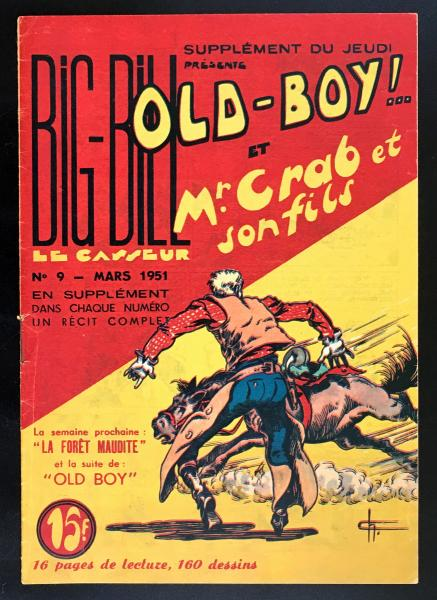 Old-boy (Big Bill présente) # 9 - Mr Crab et son fils