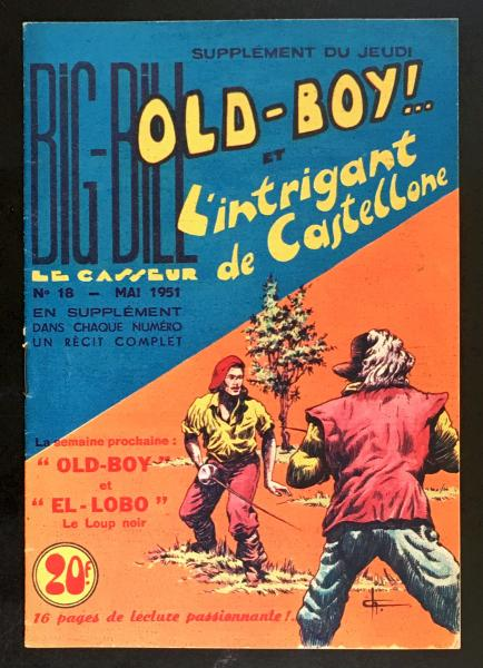 Old-boy (Big Bill présente) # 18 - L'Intrigant de Castellone