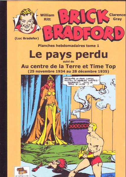 Brick Bradford (strips quotidiens) # 1 - Le Pays perdu
