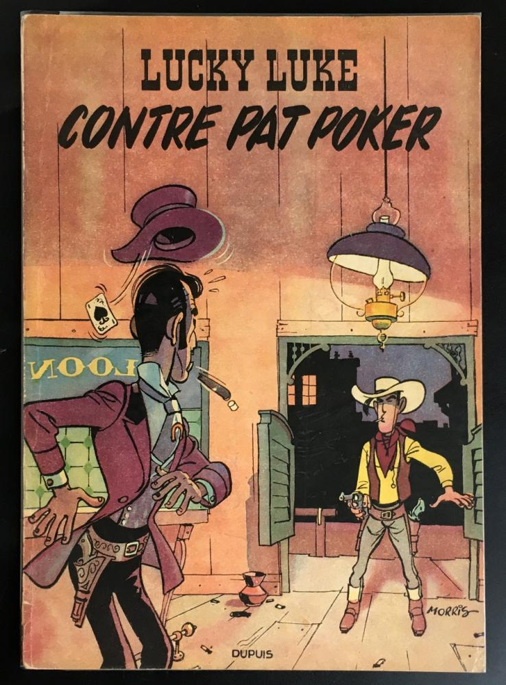 Lucky Luke # 5 - Lucky Luke contre Pat Poker