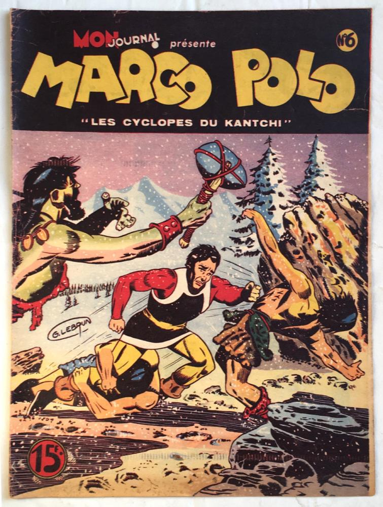 Marco Polo # 6 - Les cyclopes du Kanshi