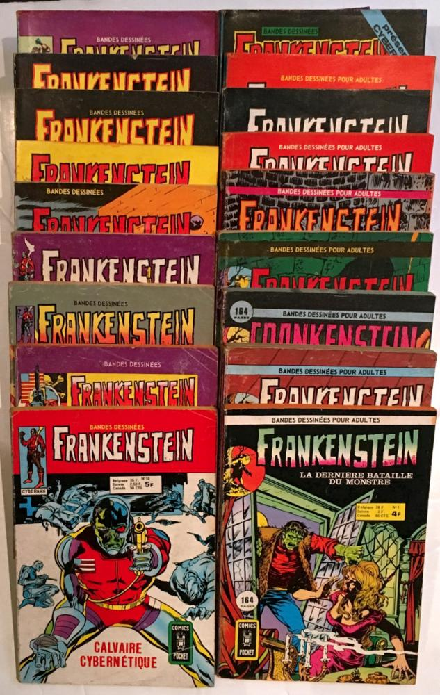 Frankenstein (Artima) # 0 - Collection complète - 19 tomes