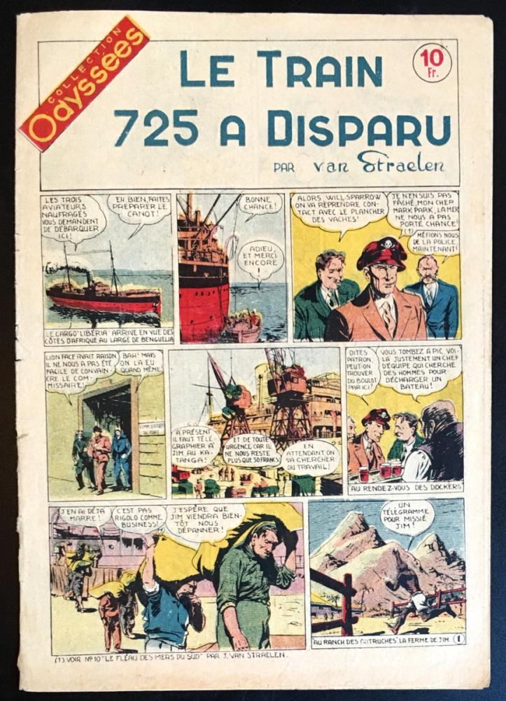 Collection Odyssées # 18 - Le Train 725 a disparu