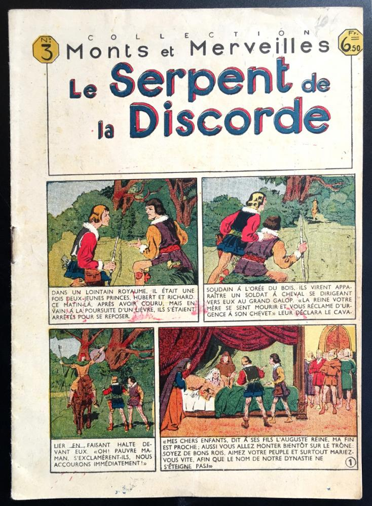Collection Monts et merveilles # 3 - Le Serpent de la discorde