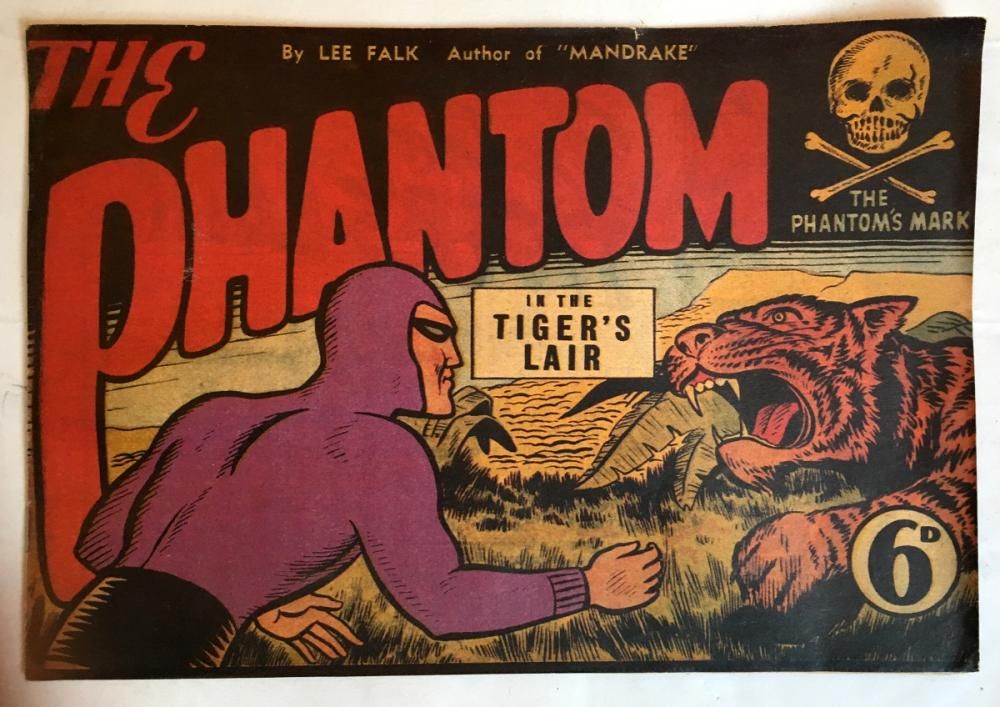 Le Fantôme (Australie) # 2 - The Phantom : In the Tiger's lair