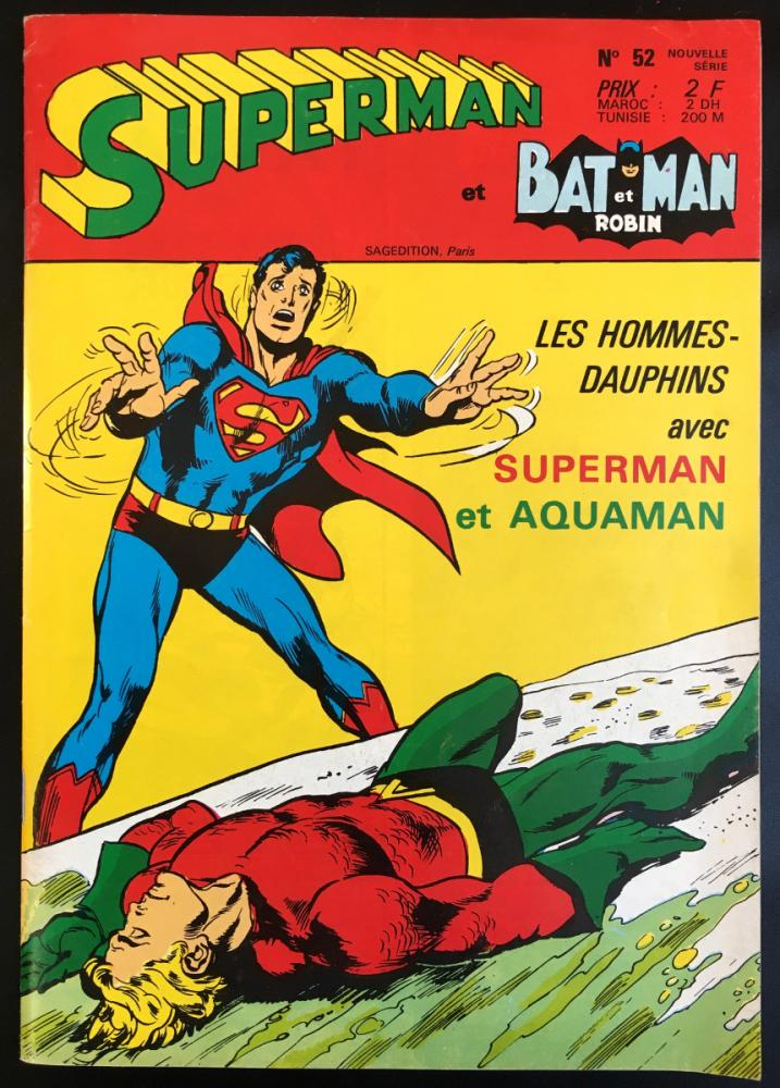 Superman et Batman et Robin (Sagedition) # 52 -