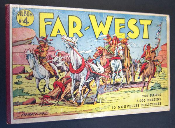Coq hardi magazine (recueils) # 4 - Far west - album n°4