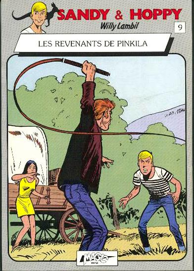 Sandy et Hoppy # 9 - Les Revenants de Pinkila