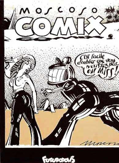 Moscoso : Comix