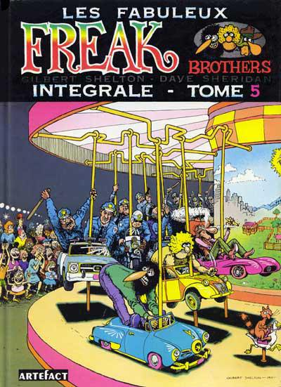 Les fabuleux freak brothers # 5 - Les fabuleux freak brothers tome 5