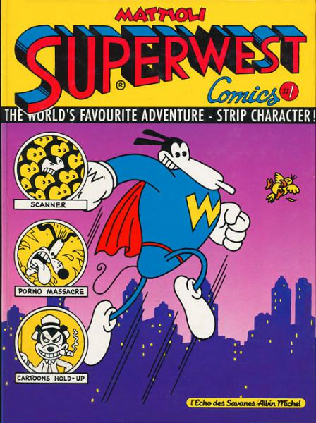 Superwest comics