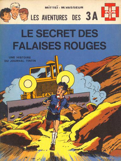 Les 3 A # 3 - Le Secret des falaises rouges