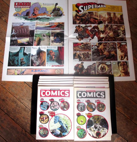 Wednesday comics # 0 - Wednesday comics - collection complète n°1 à 12